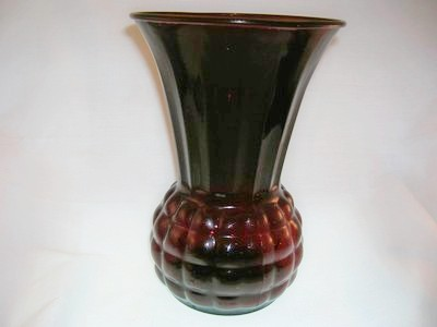 Vintage Anchor Hocking Royal Ruby Vase