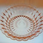 Jeannette Windsor Diamond Pink Berry Bowl
