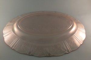 Macbeth-Evans American Sweetheart Pink Platter