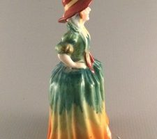 Japanese figurine of a southern lady circa 1920s-30s