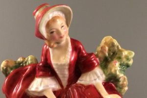 Lydia HN 1908 Royal Doulton figurine close up