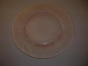 Dogwood Depression Glass plate