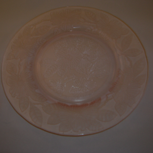 Dogwood Depression Glass plate