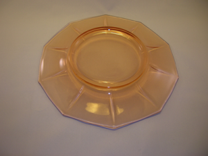 Decagon salad plate