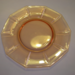 Decagon salad plate