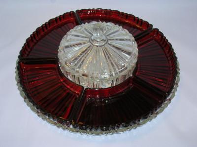Ruby Depression Glass-Old Cafe