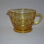 Yorktown Creamer by Federal Glass