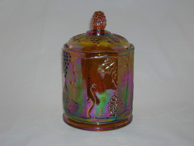 Indiana Harvest Carnival Candy Jar