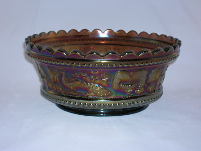 Northwood Carnival Glass Master Bowl