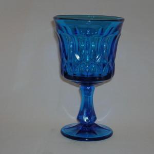 Noritake Perspective Blue Goblet