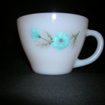 Fire King Bonnie Blue cup by Anchor Hocking