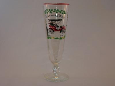 Pilsner 1905 Buick Model C Beer Glass