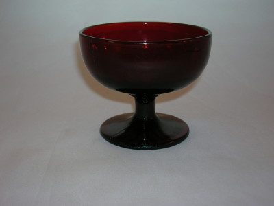 Anchor Hocking Royal Ruby Glass Sherbet