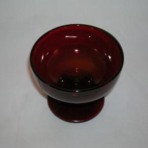 Royal Ruby glass sherbet