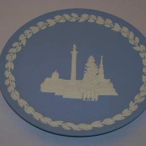 Wedgwood Jasperware Christmas Plate