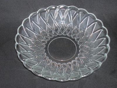 Indiana Glass Pretzel Pattern Bowl