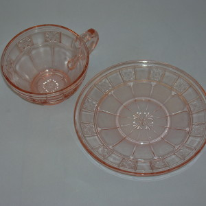 Jeannette Doric Cup and Saucer
