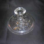 Camellia Candle Holder by Fostoria