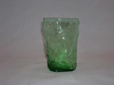 Morgantown Crinkle Glass Tumbler