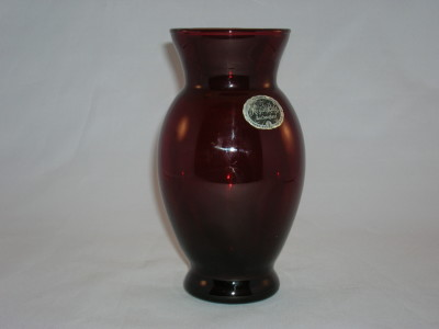 Royal Ruby Vase-Coolidge Style