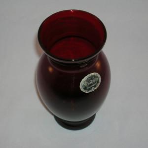 Royal Ruby Vase-Coolidge style