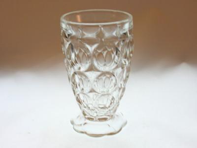 Jeannette Glass Thumbprint Tumbler