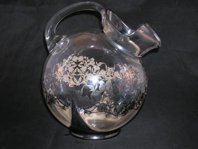 Cambridge Glass Ball Pitcher