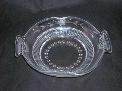 Paden City Glass Cavendish Bowl