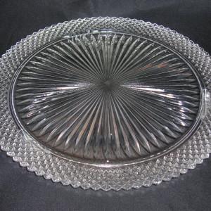 Miss America Cake Plate