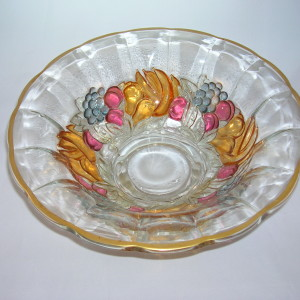 Indiana Glass Garland Bowl