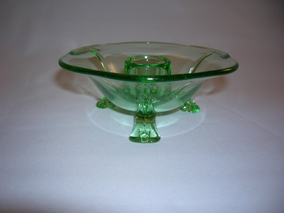 Fostoria Glass Candle Holder