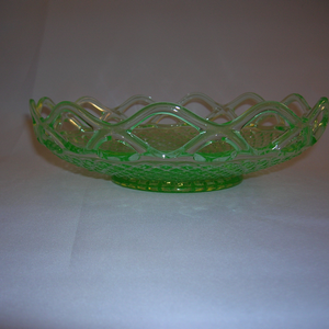 Imperial Glass Lace Edge bowl
