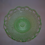 Imperial Glass Lace Edge Bolw