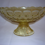 Yorktown footed bowl by Federal Glass