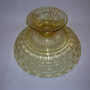 Yorktown footed bowl, underside view