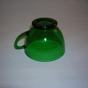 Anchor Hocking Forest Green punch cup