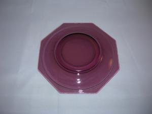 Moroccan Amethyst luncheon plate