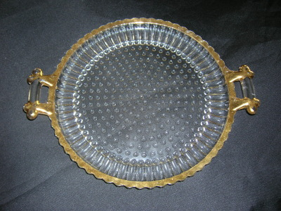 Jeannette National Glass Tray