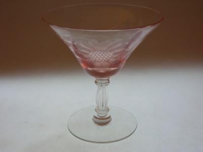 Hughes Pink Corn Flower Sherbet