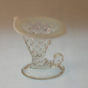 Fenton Hobnail Candle Holder