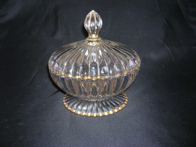 Jeannette Glass National Candy Dish