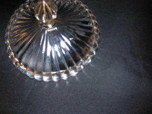 Jeannette Glass National Pattern candy dish