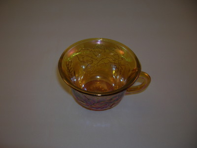 Indiana Harvest Gold Punch Cup