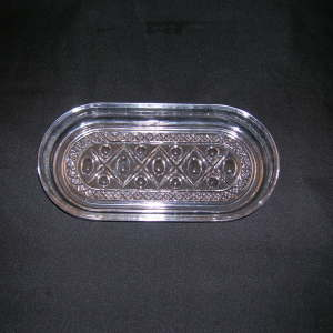 Imperial Glass Cape Cod Tray