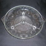 Indiana Glass Daisy Pattern Relish