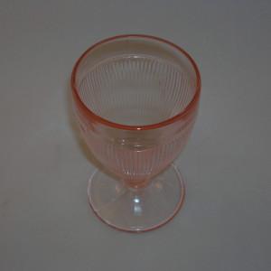 Homespun Depression Glass Tumbler