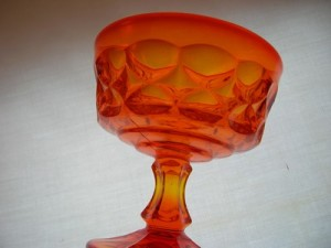 Noritake Perspective Tangerine Sherbet