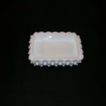 Fenton Hobnail Milk Glass Ashtray