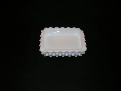 Fenton Hobnail Milk Glass Ashtray