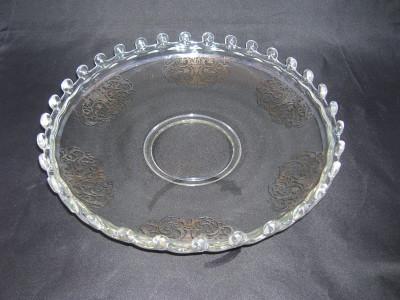 Heisey Lariat Pattern Fruit Bowl